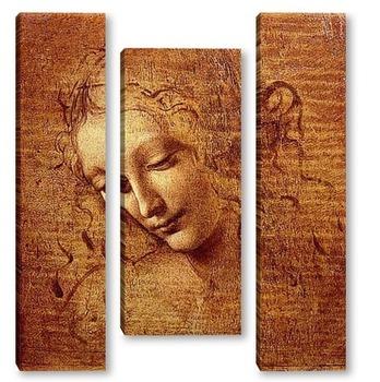 Модульная картина Leonardo da Vinci-07