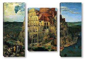 Модульная картина Вавилонская башня