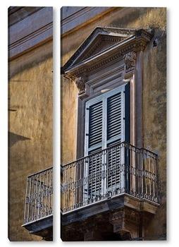Модульная картина Балкончик