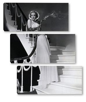 Модульная картина Марлен Дитрих в фильме<Дъявол-это женщина>,1935г.