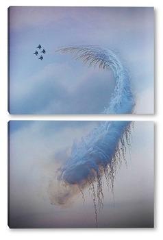Модульная картина В небе