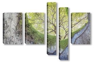 Модульная картина Природа подземного перехода
