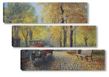 Модульная картина Осенняя соната