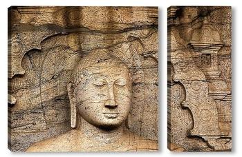 Модульная картина Будда. Полонарувву. Цейлон