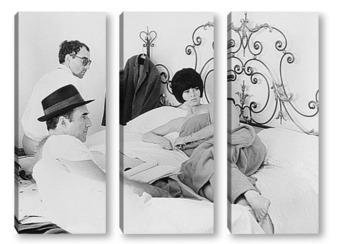 Модульная картина Brigitte Bardot-05