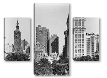 Модульная картина Мэдиссон авеню между 24-й и 26-й улицами.