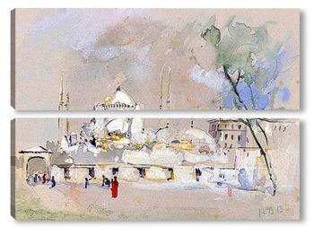 Модульная картина Собор Святой Софии, Стамбул
