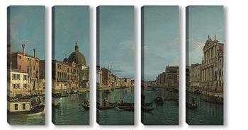 Модульная картина Канал,Венеция