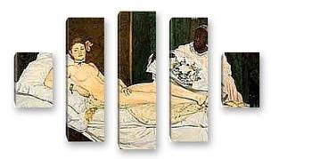 Модульная картина Edouard Manet-2