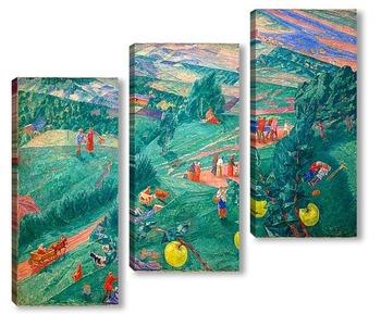 Модульная картина Полдень (1917)