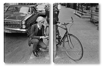 Модульная картина Warhol Andy