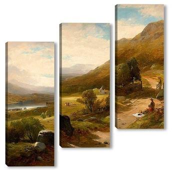 Модульная картина Озера Виндермер, Англия