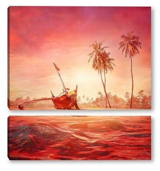 Модульная картина Морской пейзаж