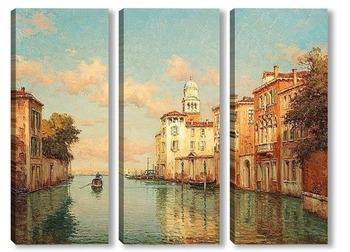 Модульная картина Канал в Венеции