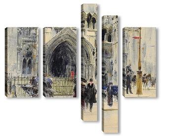 Модульная картина Лондон: Здание суда