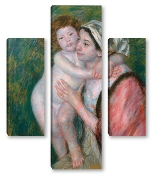 Модульная картина Мать и дитя, 1914