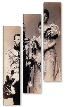 Модульная картина Николай II (1)
