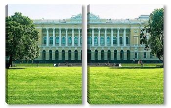 Михайловский сад. Русский музей.