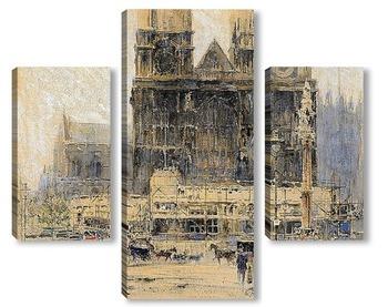 Модульная картина Лондон: Вестминстерское аббатство