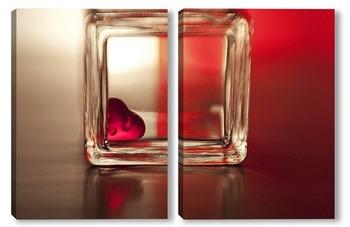 Модульная картина Про любовь