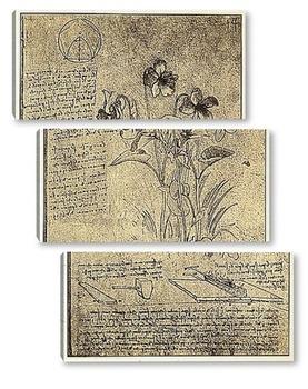 Модульная картина Leonardo da Vinci-22