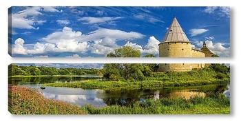 Модульная картина Староладожская крепость