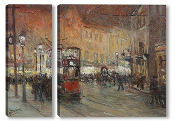 Модульная картина Риджентс-стрит