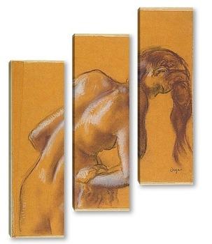Модульная картина Купальщица, 1892