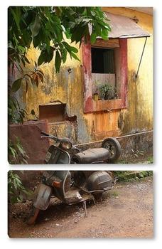 Модульная картина Мотоцикл