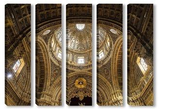 Своды церкви Сан-Мигель в Херес-де-ла-Фронтера