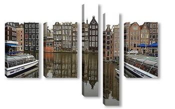 Модульная картина Амстердам,Голландия.