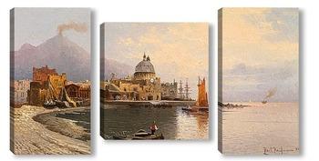 Модульная картина Картина художника 19-20 веков, пейзаж