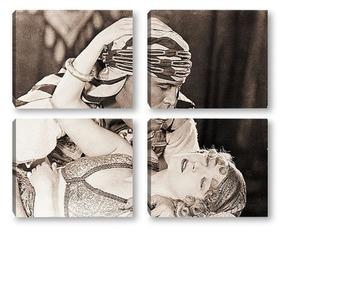 Модульная картина Rudolph Valentino-3