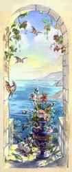 Наклейки Морской пейзаж