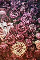 Наклейки Розы ретро