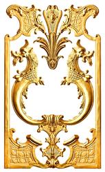 Наклейки Золотой Дракон