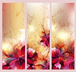Наклейки Яркая абстракция цветов