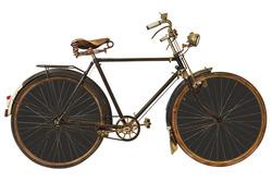 Наклейки Коричневый велосипед