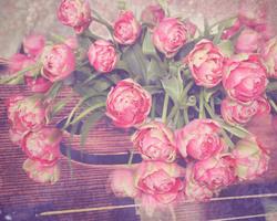 Наклейки Тюльпаны со скрипкой