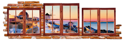 Наклейки Пейзаж Греции