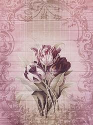 Наклейки Рисунок тюльпанов