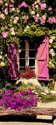 Наклейки Окно и цветы