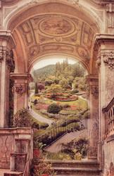 Наклейки Прекрасный сад