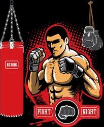 Наклейки Боксер, спорт