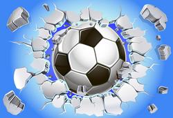 Наклейки Футбольный мяч