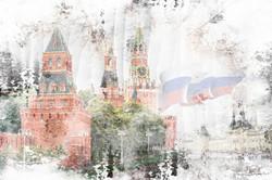 Наклейки Московский Кремль