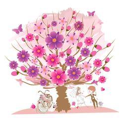Наклейки Дерево счастья