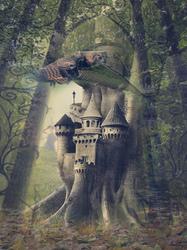 Наклейки Волшебное дерево