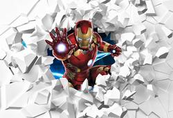 Наклейки Железный человек