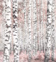 Наклейки Березовый лес